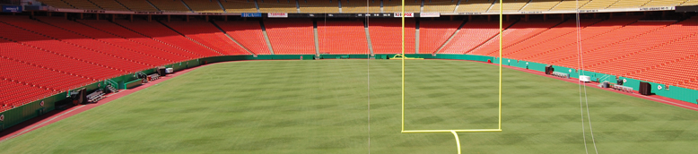 Arrowhead Stadium, Kansas City Chiefs. Renovations by Perfect Play Fields & Links